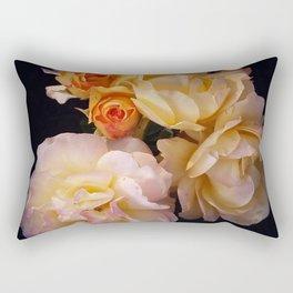 Glass House Roses Rectangular Pillow