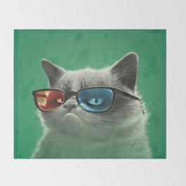 3D Throw Blanket