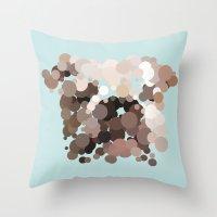 bulldog Throw Pillows featuring Bulldog by Glen Gould