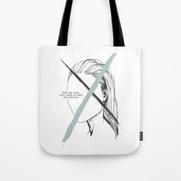 With Man Gone Tote Bag