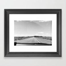 Dreaming of the Road Framed Art Print
