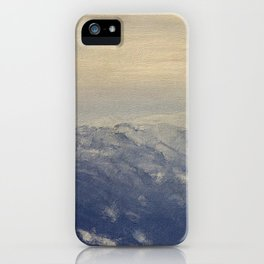Yet another lake & mountain landscape | 4 iPhone Case