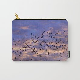 Flight of the Black Birds Carry-All Pouch