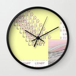 Butter & Candy 2 Wall Clock