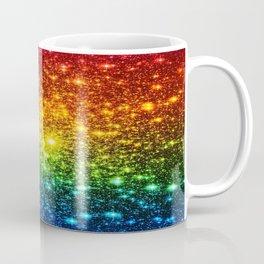 RainBoW Sparkle Stars Coffee Mug