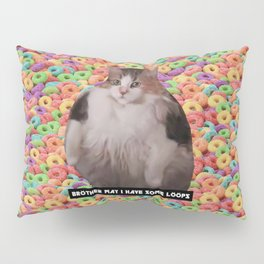 Loops Brother Kitty Pillow Sham