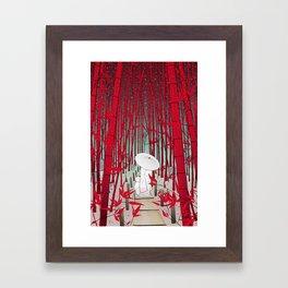 Yuki- onna Framed Art Print