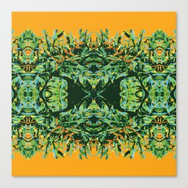 Tropic Totem Canvas Print