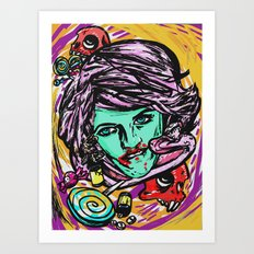 Poison Vortex Art Print