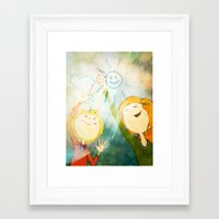 friendship Framed Art Prints featuring Friendship by Tatiana Obukhovich