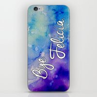 friday iPhone & iPod Skins featuring Friday by Jamie Marie Lyon