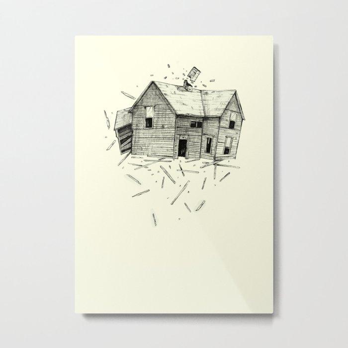 home blown Metal Print
