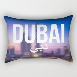 Dubai - Cityscape Rectangular Pillow