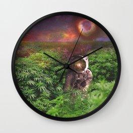 Planet Hemp Wall Clock