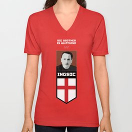 Big Brother Is Watching You  Unisex V-Neck