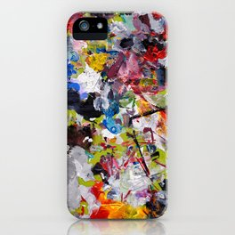 Artist palette iPhone Case