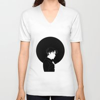 levi V-neck T-shirts featuring Levi Ackerman by Jamie O'Reilly