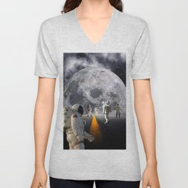The Lost Astronauts Unisex V-Neck