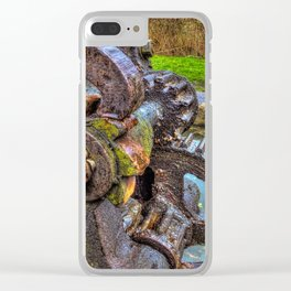 Winding Gear Clear iPhone Case