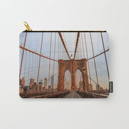 Brooklyn Bridge Sunrise Carry-All Pouch