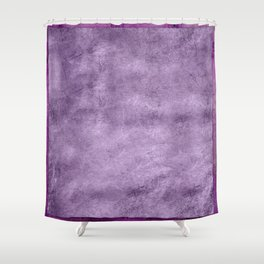 Violet wall Shower Curtain