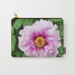 Rose and mauve peony with a heart of gold Carry-All Pouch