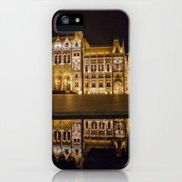 church bright light at night iPhone Case