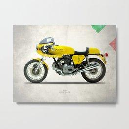 The 1977 900 Super Sport Metal Print
