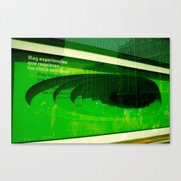 """""""Experiencias"""" Canvas Print"""