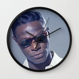 Nat King Cole  - Black Culture - Black History Wall Clock