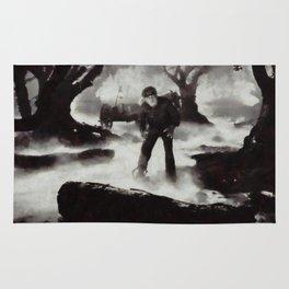 Iconic Movie Scenes - Wolf Man Rug