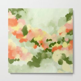 Abstract painting Summer Vibes Metal Print
