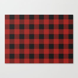 Buffalo Check Plaid Canvas Print
