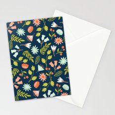 Wilderness Flowers Scatter  Stationery Cards