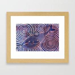 Blubber Money Framed Art Print
