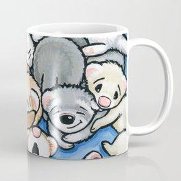 Wall to Wall Weasels Coffee Mug