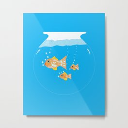 Goldfish III Metal Print