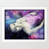 Quinceañera Dream Art Print