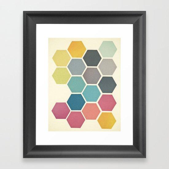 Honeycomb II Framed Art Print
