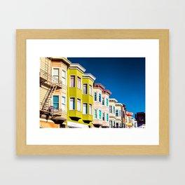 Colorful San Francisco 3 Framed Art Print