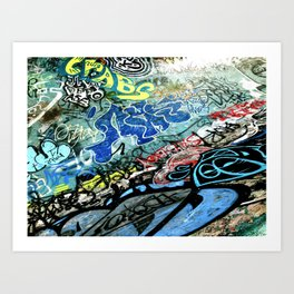 Graffiti is Art Art Print