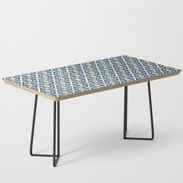 Thunderbird Kilim Watercolor Coffee Table