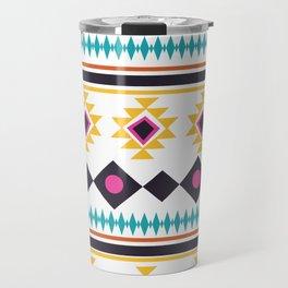 Aztec Fun Colorful Abstract Mix Travel Mug