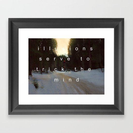 DREAM OF LOVE SONGS. Framed Art Print