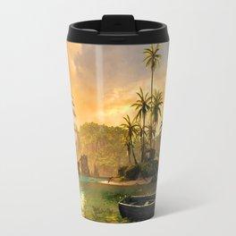 Tropical Port Travel Mug