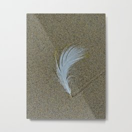Sand Surfer Metal Print