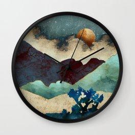 Evening Calm Wall Clock
