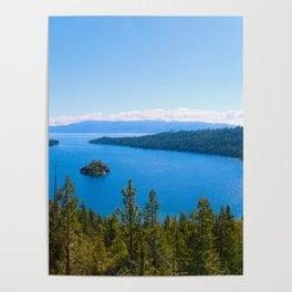 Emerald Bay Overlook Poster