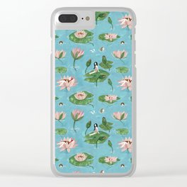 WATER-LADIES Clear iPhone Case