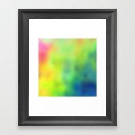 Tye Dye Framed Art Print